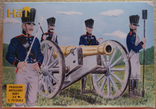 HaT 1/72 HAT8007 Prussian Artillery (Napoleonic)